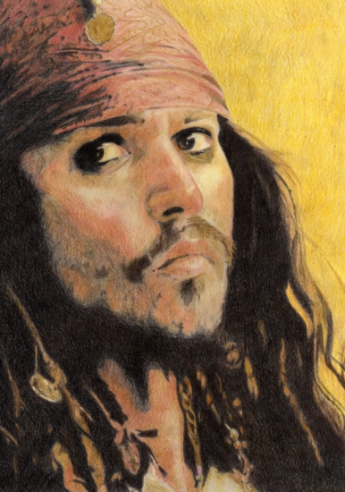 Johnny Depp por Karen